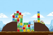 Angry Birds Chrome Dimension Level #3 Walkthrough
