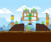 Angry Birds Chrome Logo Location Level 2-20