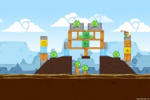 Angry Birds Chrome Dimension Level #5 Walkthrough