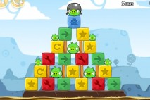 Angry Birds Chrome Dimension Level #6 Walkthrough