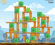 Angry Birds Chrome Logo Location Level 3-14