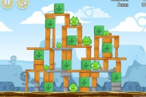 Angry Birds Chrome Dimension Level #7 Walkthrough
