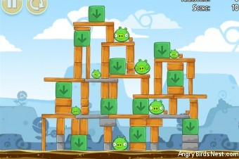 Angry Birds Chrome Dimension Level #7 Walkthrough