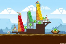 Angry Birds Chrome Dimension Level #8 Walkthrough