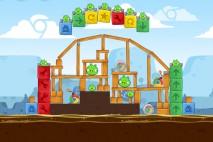 Angry Birds Chrome Dimension Level #9 Walkthrough