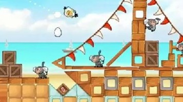 Angry Birds Rio Beach Volley Gameplay Trailer