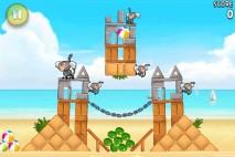 Angry Birds Rio Beach Volley Walkthrough Level 1 (5-1)