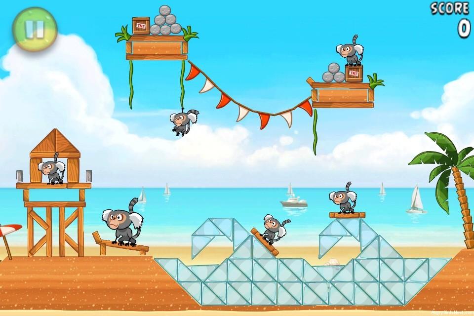 Angry Birds Rio Beach Volley Walkthrough Level 10 (5-10 ...