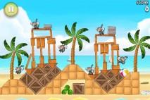 Angry Birds Rio Beach Volley Walkthrough Level 11 (5-11)