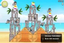Angry Birds Rio Beach Volley Walkthrough Level 12 (5-12)