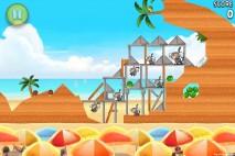 Angry Birds Rio Beach Volley Walkthrough Level 13 (5-13)