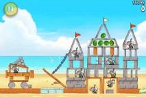 Angry Birds Rio Beach Volley Walkthrough Level 14 (5-14)