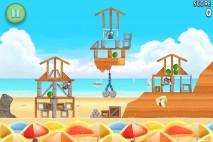 Angry Birds Rio Beach Volley Walkthrough Level 3 (5-3)