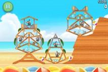 Angry Birds Rio Beach Volley Walkthrough Level 4 (5-4)
