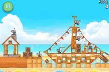 Angry Birds Rio Beach Volley Walkthrough Level 5 (5-5)