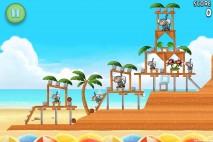 Angry Birds Rio Beach Volley Walkthrough Level 6 (5-6)