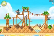 Angry Birds Rio Beach Volley Walkthrough Level 7 (5-7)