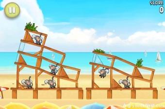 Angry Birds Rio Beach Volley Walkthrough Level 8 (5-8)