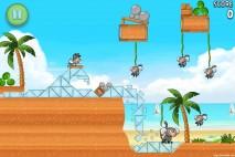 Angry Birds Rio Beach Volley Walkthrough Level 26 (6-11)