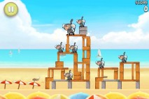 Angry Birds Rio Beach Volley Walkthrough Level 27 (6-12)