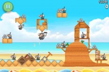 Angry Birds Rio Beach Volley Walkthrough Level 28 (6-13)