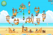 Angry Birds Rio Beach Volley Walkthrough Level 29 (6-14)