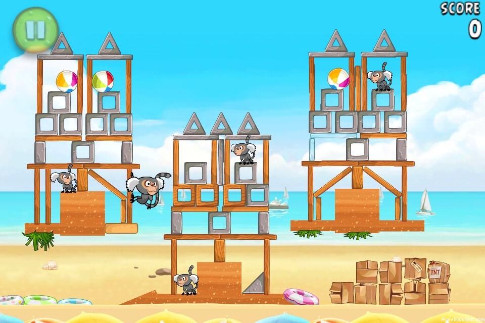 Angry Birds Rio Beach Volley Walkthrough Level 18 (6-3 ...