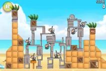 Angry Birds Rio Melon Walkthrough Level 19 (6-4)