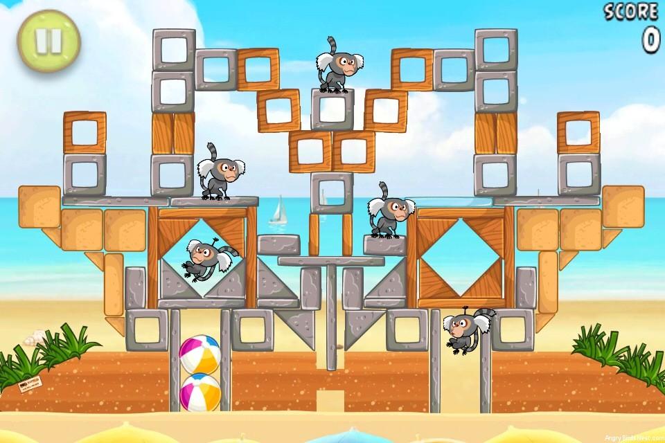 Angry Birds Rio Beach Volley Walkthrough Level 20 (6-5 ...