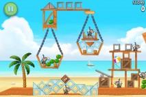 Angry Birds Rio Melon Walkthrough Level 21 (6-6)
