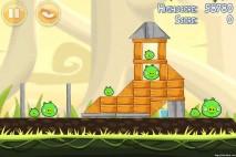 Angry Birds Danger Above 3 Star Walkthrough Level 6-1
