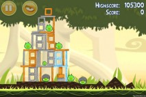 Angry Birds Danger Above 3 Star Walkthrough Level 6-11