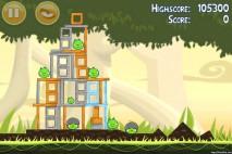 Angry Birds Danger Above 3 Star Walkthrough Level 6-11
