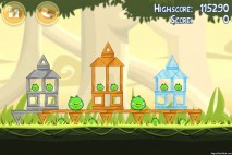 Angry Birds Danger Above 3 Star Walkthrough Level 6-12