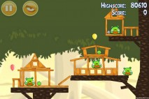 Angry Birds Danger Above 3 Star Walkthrough Level 6-13