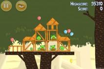 Angry Birds Danger Above 3 Star Walkthrough Level 6-14