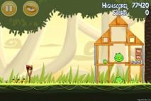 Angry Birds Danger Above 3 Star Walkthrough Level 6-2