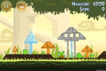 Angry Birds Danger Above 3 Star Walkthrough Level 6-3
