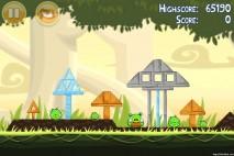 Angry Birds Danger Above 3 Star Walkthrough Level 6-3