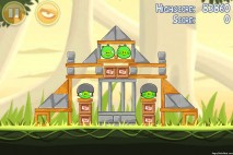 Angry Birds Danger Above 3 Star Walkthrough Level 6-4