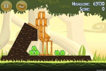 Angry Birds Danger Above 3 Star Walkthrough Level 6-5