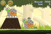 Angry Birds Danger Above 3 Star Walkthrough Level 6-6