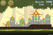 Angry Birds Danger Above 3 Star Walkthrough Level 6-8