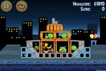 Angry Birds Danger Above 3 Star Walkthrough Level 7-13