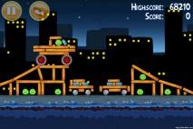Angry Birds Danger Above 3 Star Walkthrough Level 7-3