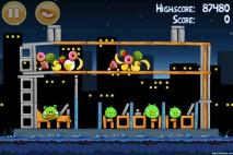 Angry Birds Danger Above 3 Star Walkthrough Level 7-4