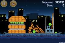 Angry Birds Danger Above 3 Star Walkthrough Level 7-7