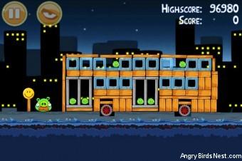 Angry Birds Danger Above 3 Star Walkthrough Level 7-8