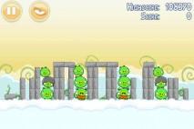 Angry Birds Danger Above 3 Star Walkthrough Level 8-1