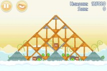 Angry Birds Danger Above 3 Star Walkthrough Level 8-10